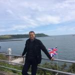 Po szkoleniu - obowiązkowy spacer po nabrzeżu Plymouth