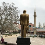 Ataturk towarzyszył nam w każdej miejscowości