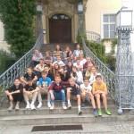 Przed pałacem