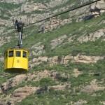 Podróż żółtego wagonika na Montserrat