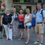 Los Rubios w poszukiwaniu tapas w dzielnicy Gràcia