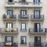 Balkony – miejsce manifestacji poglądów politycznych