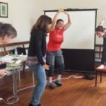 Typowe zajęcia z Silvaną  Rampone